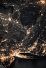 The Well-lit Coasts of New Jersey, New York and Connecticut (NASA's Marshall Space Flight Center) Tags: nasa marshall space flight center msfc international station iss astronauts expedition 54 new jersey connecticut york