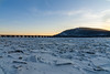 Train Bridge Over the Susquehanna II (agladshtein) Tags: harrisburg nature pa pennsylvania winter ice sunset outdoors susquehannariver bridge railroad railroadbridge river water crossing freight engine sonya7r3 sony2470gm frozen forthunter