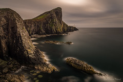 Neist Point Cliff (cfaobam) Tags: neist point coast scotland lighthouse skye isle cliff europe meer islands scottish landschaft ufer langzeitbelichtung long exposure landscape color sun water travel photography europa nature national geographic cfaobam wasser sony a7r explorer2016 globetrotter outdoor