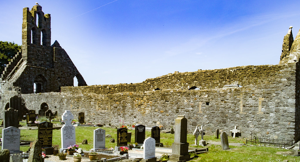 BACK IN JANUARY 2009 I VISITED THE OLD GRAVEYARD IN HOWTH [I HAD TO LEAVE BECAUSE I WAS ATTACKED BY GULLS]-135898