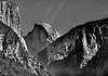 The Trio (Doug Santo) Tags: elcapitan halfdome sentinelrock landscapephotography blackandwhite yosemitenationalpark