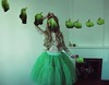 Laundry day ll (Sus Blanco) Tags: selfportrait green laundry conceptual coliflower vegetal longhair fineart fairytale