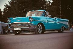 Chevrolet Belair 1957 (Myggan68) Tags: bilar classiccarweek classiccarweek2016 ontheroadswithmyggan chevrolet rättvik ontheroad