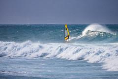 windsurfing (EdgarJi) Tags: hookipabeachpark hawai windsurfing wave maui