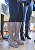 2018-01-19 (27) boots at River's Edge Restaurant, Benedict, MD (JLeeFleenor) Tags: photos photography maryland md benedict girls woman femme frau vrouw donna lamujer dona امرأة жена 女子 žena kvinde nainen γυναίκα האישה nő औरत wanita 女性 여자 kvinne زن kobieta mulher женщина kvinna หญิง kadın жінка ngườiphụnữ boots shoes footwear footgear riversedgerestaurant inside jeans heels kneehigh tan black