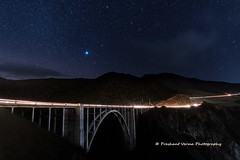 PV0_0246 (PrashantVerma) Tags: california big sur bixby creek bridge traffic stars night longexposure canon 5d canon5dmarkiv pch pacific coast highway