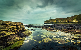 Gloomy day at Flamborough Head