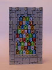 Stained Glass (simplybrickingit) Tags: lego bricks toy blocks fun art model uk 2018 moc afol church stained glass