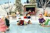 Sylvanian Families - Ice Skating story (Sylvanako) Tags: skating ice figureskating toy winter sports fun families pond frozen sylvanian figure