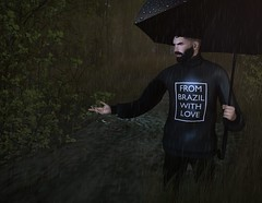 † 983 † (Nospherato Destiny) Tags: secondlife sl avatar event newreleases blogger virtual malefashion guy rain cheerno hipstermenevent locktuft