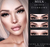 . MILA . Arched Eyebrows (Catwa & Lelutka) (miiane SL ( MILA . POSES )) Tags: eyebrows milaposes mila applique event applier brows makeup second life secondlife