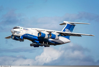Ilyushin IL76TD Silk Way Airlines 4K-AZ101