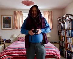 J is for Jumper 296-365 (11) (♔ Georgie R) Tags: bedroom jumper camera books