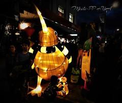 394. CNY 2018:  Kiwi Lanterns - Baby Greets Baby! (Meili-PP Hua 2) Tags: chinesenewyear2018 chinesenewyear lanterns lanternfestival chinesenewyearlanternfestival chineselanterns wellington nz wellingtonnz chinesenewyearfestival2018 kiwilanterns kiwi kiwibirdlantern night festival photographypassionsxyz