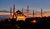 The Blue Mosque at Sunset (sousapp) Tags: istanbul stuckincustomscom treyratcliff turkey treyratcliffcom