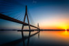Atardecer en la Frontera (flamesay) Tags: ayamonte huelva puenteinternacionaldelguadia atardecer puenteinternacionaldelguadiana sunset bridge river guadiana andalucia seascape