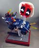 """""""Brickpool"""" - Deadpool Opening Titles MOC (dinosaurtales) Tags: lego deadpool marvel legomarvel oneshot brickpool toys toyphotography legovignette"""