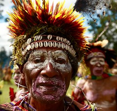 Portrait / Goroka show (michel David photography) Tags: papua newguinéa tribe goroka show