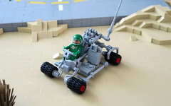 Classic Space Dune Buggy (Wami Delthorn) Tags: neoclassicspace febrovery space rover