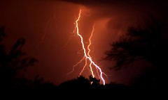 Power. (pstone646) Tags: lightning electricity nature storm weather africa nighttime southafrica clouds sky