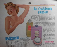 Rawleigh's 1952 Almanac Cookbook (neshachan) Tags: rawleighs ephemera kitsch almanac cookbook 1950s 1952 deodorant perfume