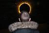 London (jaumescar) Tags: london england unitedkingdom lumiere festival 2018 yellow flash color streetphotography street photo man saint funny juxtaposition winter holy religion joke dark night shot highiso