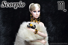 Zodiac signs Scorpio Fashion Royalty (Tanchi_i) Tags: fr fashion royalty integrity agnes von weiss
