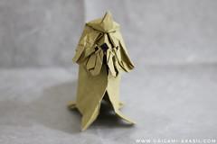 Shih Tzu by Zhangyifan (origami_artist_diego) Tags: origami origamichallenge 365days 365origamichallenge dog shihtzu