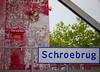 WeLLneSS. (WaRMoezenierr.) Tags: brug bridge puente red rojo rood schroebrug middelburg zeeland nederland netherlands renovatie wellness pays bas panasonic lumix abstract detail