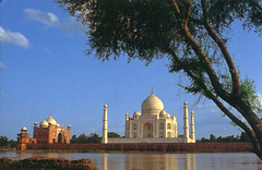 India - Agra - Tadż Mahal ,Taj Mahal ( UNESCO ) .