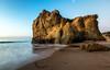 Moon Waves (JohnLazo19) Tags: 1635mm beach canon5dmarkiv elmatador landscapes morning ocean rocks sunrise water waves