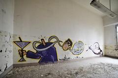 Ex ospedale psichiatrico - Volterra (Claudia Celli Simi) Tags: luoghiabbandonati volterra exospedalepsichiatrico luoghidellamemoria tesorinascosti adificio toscana italia murales graffiti abbandono desolazione manicomio sadnes abandoned urbanexploration