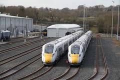 Hitachi Works, Newton Aycliffe, Co. Durham (Paul Emma) Tags: uk england countydurham railway newtonaycliffe railroad works hitachi iep train electrictrain