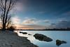 Pose longue à Saint Cyr (Di_Chap) Tags: cplnisi france nd1024 poselongue sunset heurebleue lacdesaintcyr poitoucharentes bluehour nouvelleaquitaine