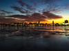 Penns Landing Sunrise (dweible1109) Tags: sunrise pennslanding delawareriver iphone magichour philadelphia penna