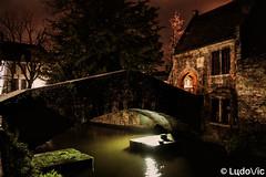 A night in Bruges (22) (Lцdо\/іс) Tags: brugge bruges bridge belgique belgium belgie nightcity night voyage citytrip travel city town old bonifacius pont medieval oldcity nuit lights lцdоіс