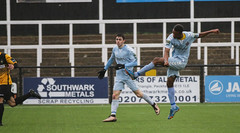 Cray Wanderers 1 Lewes 2 20 01 2018-238.jpg (jamesboyes) Tags: lewes cray bromley football bostik isthmian fa soccer action goal game celebrate celebration sport athlete footballer canon dslr