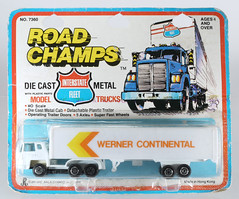 YAT-RC-7360-Werner (adrianz toyz) Tags: yatming toy model truck semi plastic roadchamps 7360 bernard diecast articulated