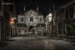 Gevangenenpoort - Lier (Geert E) Tags: gevangenenpoort hdr lier nachtfotografie night urban gate