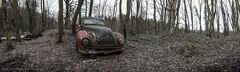 Rust Bucket (Graceful Decay) Tags: abandoned autumn canon car decay decayed derelict deserted eos explore forgotten forsaken gracefuldecay grey leaves lost lostplaces old pano panorama panoramic rust transport urbex urbanexploration urbandecay vergessen verlassen