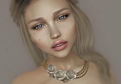 Dahlia - Penelope (Chelsea Chaplynski ( Amity77 inworld)) Tags: chelsea penelope necklace gold silver hud secondlife sl avatar fameshed dahlia