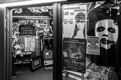 Mademoiselle Nineteen poster at Cult Vinyl (Marc Wathieu) Tags: liverpool record store shop vinyl 2017