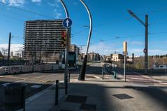 Trambaix (efe Marimon) Tags: panasonicdmclx100 felixmarimon barcelona l´hospitalet tramvía trambaix