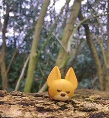 Finnick (JoeyDee83) Tags: disney zootopia pixar movie film vinyl toy geek tsum nature forest woods wildlife fox fennec woodlands animation