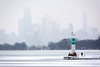 Skyline Snowscape (Andy Marfia) Tags: chicago uptown lakemichigan lakefront montroseharbor harbor lake pier skyline citiscape snow ice winter d7100 7030mm 1640sec f8 iso160