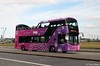 SJ66 LKP Lothian Buses 250 Volvo B5TL with Wright Gemini 3 body at Ocean Terminal Leith July17 1 (Copy) (focus- transport) Tags: lothian buses edinburgh tourists open toppers 2017 volvo b5tl wright wrightbus gemini 3 dennis trident plaxton president