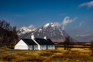 Black Rock and Buachille Etive Mor