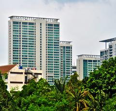 Taman Langit Setiabudi (That's not the way Debbigail depicted (using album) Tags: jakarta building gedung architecture arsitektur apartment apartemen