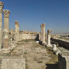 Byzantine church in Amman Citadel (ameera_hasan1987) Tags: amman citadel ruins jabel jabal tour jordan