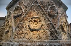 Facade of Qasr Mshatta, Umayyad, 8th cent.; Pergamon Museum, Berlin (7) (Prof. Mortel) Tags: germany berlin pergamonmuseum islamic umayyad mshatta